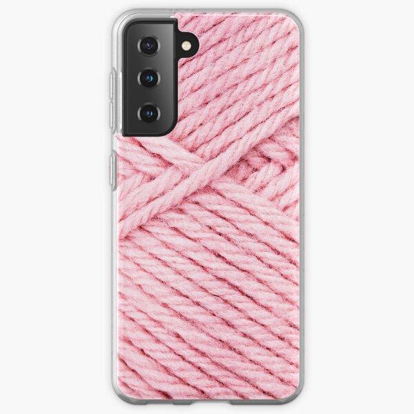 Pink Yarn Samsung Galaxy Soft Case