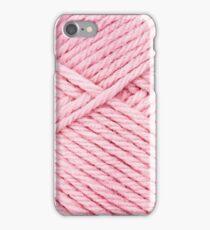 Pink Yarn iPhone Case/Skin
