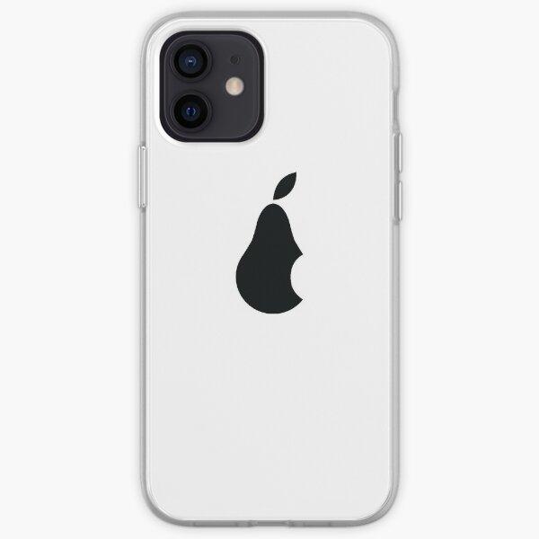 Pear Inc. (noir) Coque souple iPhone