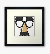 Goofy Disguise Framed Print