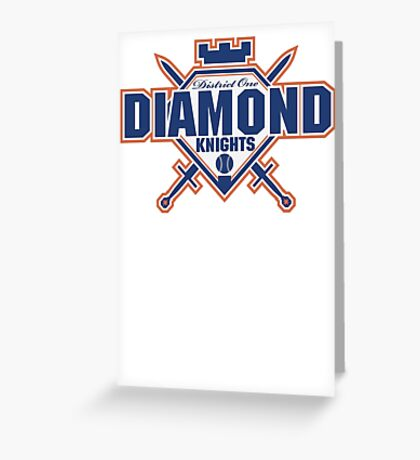 District 1 Diamond Knights Greeting Card