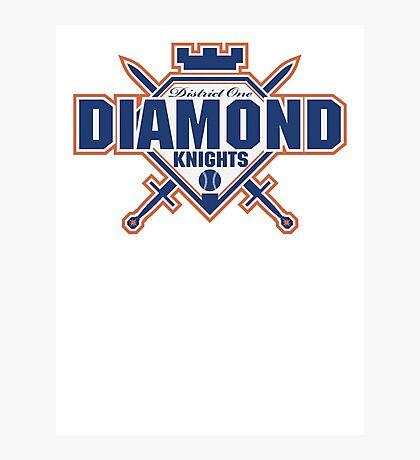 District 1 Diamond Knights Photographic Print