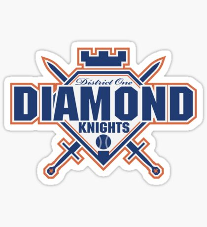 District 1 Diamond Knights Sticker