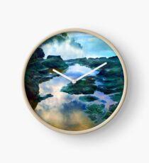 Secret Beach Waves 2015 Clock
