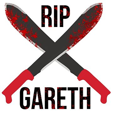 The Waling Dead RIP Gareth by WilliamGress