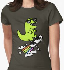 Rad Rex Womens Fitted T-Shirt