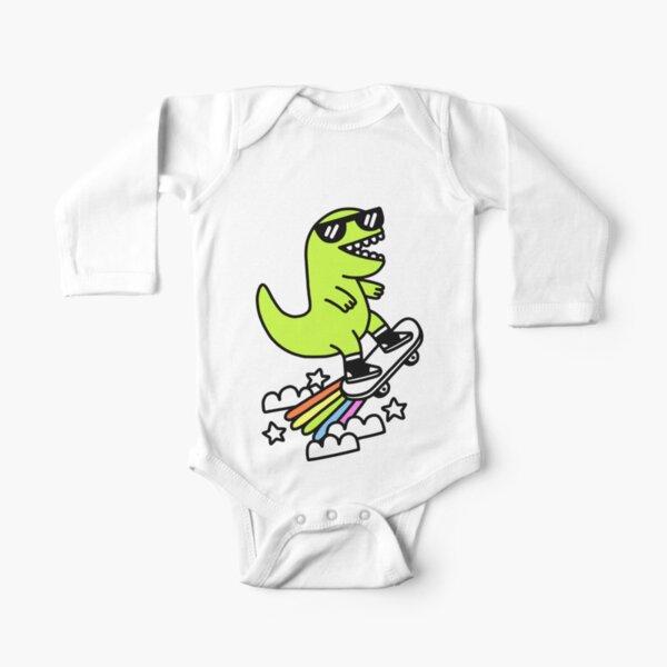 Rad Rex Body de manga larga para bebé