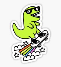 Rad Rex Sticker