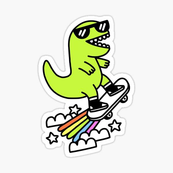 Rad Rex Sticker