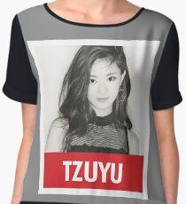 TWICE - Tzuyu Chiffon Top
