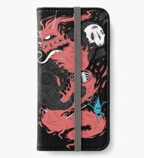 Death Of The Fire Demon iPhone Wallet/Case/Skin