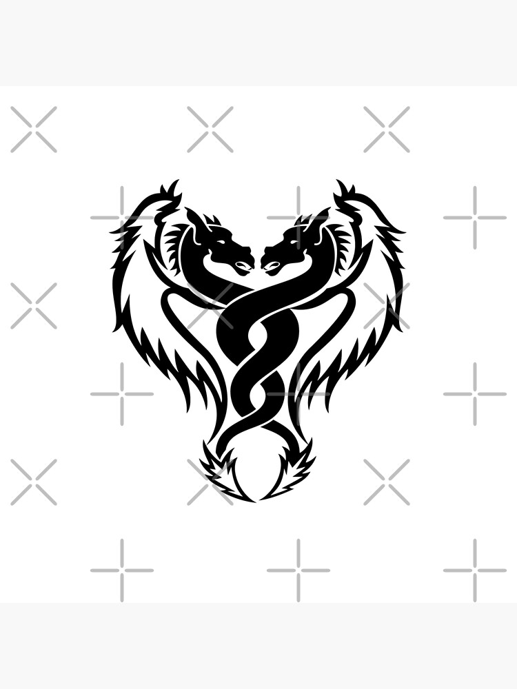 Tattoo dragon drawing tribal Dragon Tribal