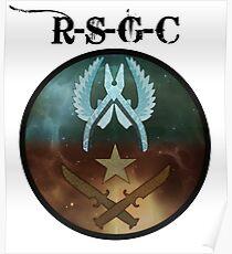 Reborn Sin Gaming Community Clan - CS:GO Poster