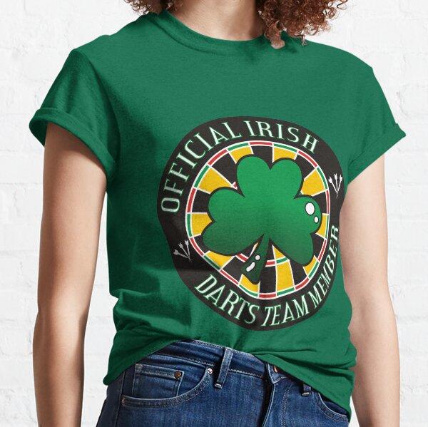 Official Irish Darts Team Member Classic T-Shirt
