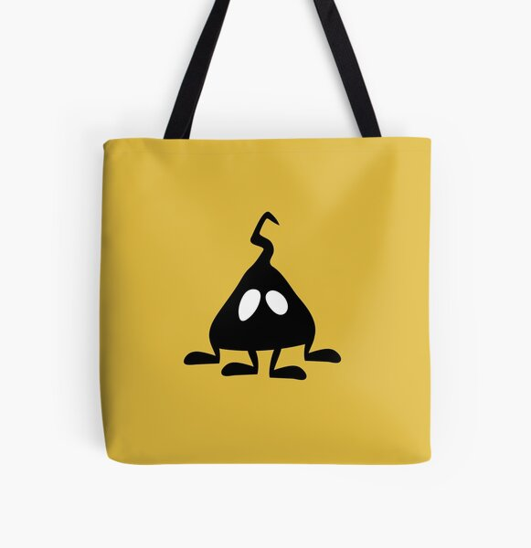 BadaBada - H is for Hiccup All Over Print Tote Bag