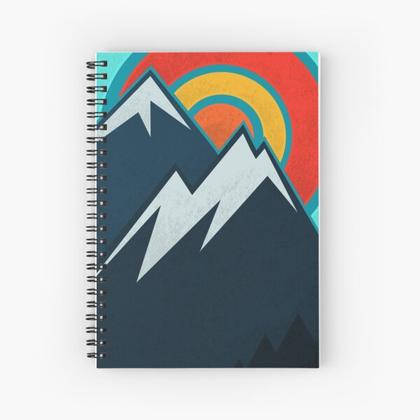 Colorado State Spiral Notebook