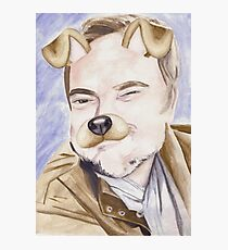 Mark Sheppard, watercolor painting Photographic Print
