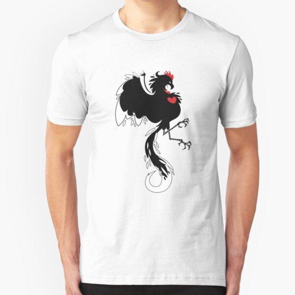 Love Cock Black Slim Fit T-Shirt