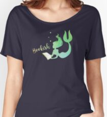 Bookish Mermaid Women's Relaxed Fit T-Shirt