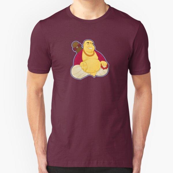 Skate Buddha Slim Fit T-Shirt