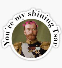 Tsar Nicholas II  Sticker