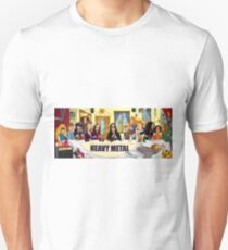 The Heavy Metal Supper Unisex T-Shirt