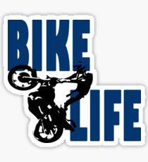 Stunt Bike Life Sticker
