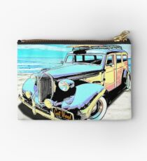 Plymouth Woody Early in the Morning by the Sea Studio Pouch