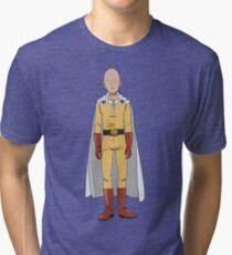 Caped Baldy Tri-blend T-Shirt
