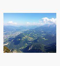 Salzburg Mountains Photographic Print