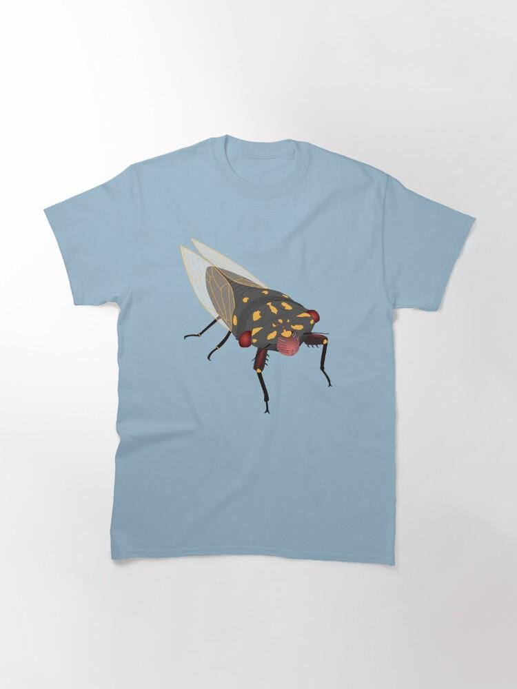 Alternate view of Cherrynose cicada (no text) Classic T-Shirt