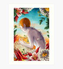Moschatel Art Print
