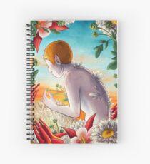 Moschatel Spiral Notebook
