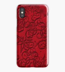 Gothic red  iPhone Case/Skin