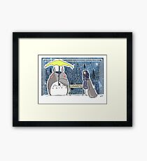 How I Met Your Neighbour Framed Print
