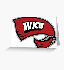 Western Kentucky University Hilltoppers WKU Greeting Card