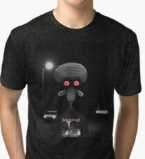 Squidward Suicide Tri-blend T-Shirt