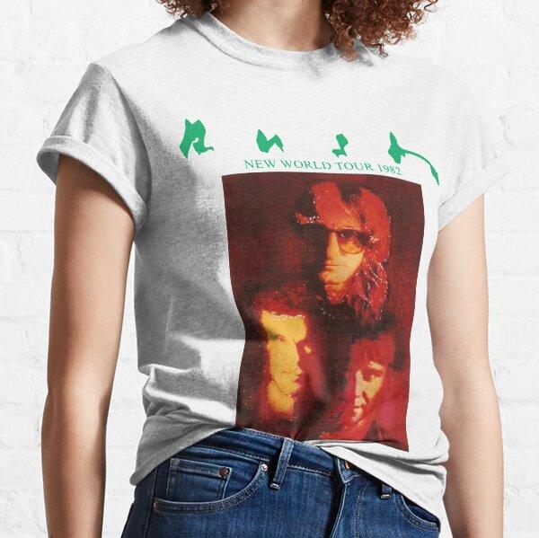 Rush New World Tour 1982 Classic T-Shirt
