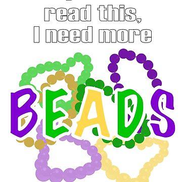 Mardi Gras Beads by southernotter