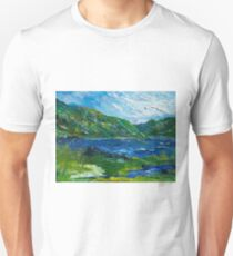 White water in Kenmare  Kerry Unisex T-Shirt
