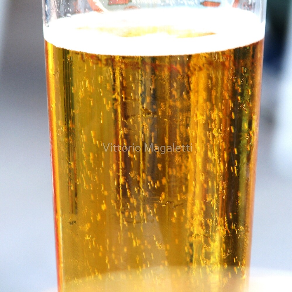 A beer...  by Vittorio Magaletti