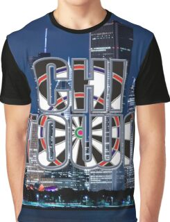 Darts Chicago Graphic T-Shirt