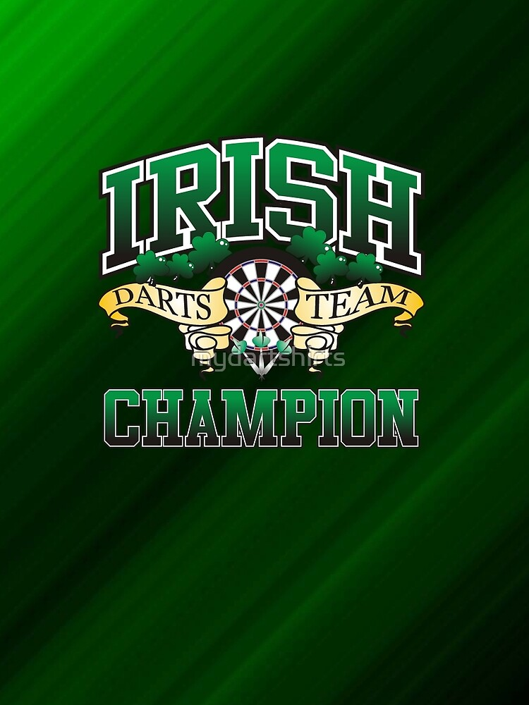 Irish Darts Champion by mydartshirts