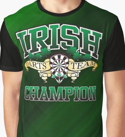 Irish Darts Champion Graphic T-Shirt