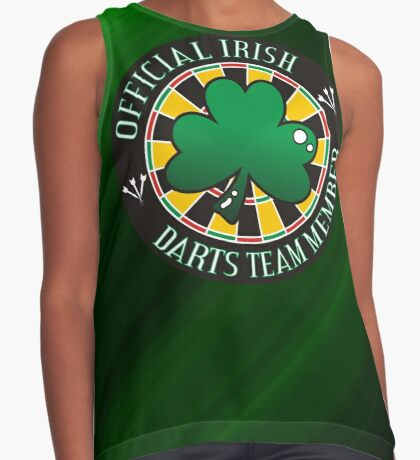 Official Irish Darts Team Member Contrast Tank