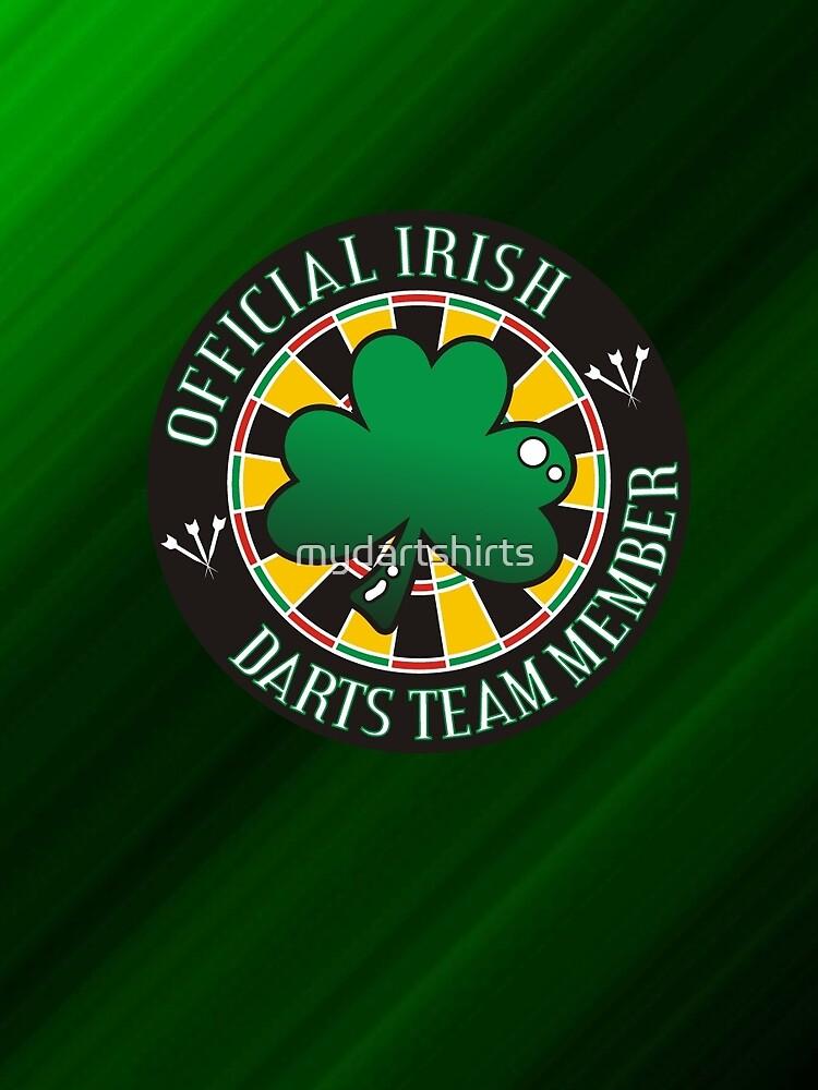 Official Irish Darts Team Member by mydartshirts