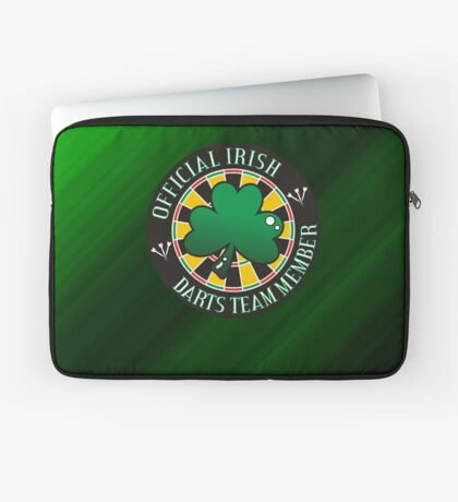 Official Irish Darts Team Member Laptop Sleeve