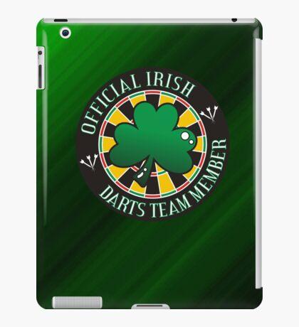 Official Irish Darts Team Member iPad Case/Skin