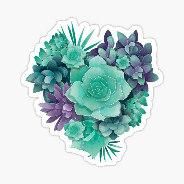 Succulent Love I Sticker