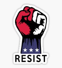 Say NO to Political Corruption in the USA Fight Resistance  Sticker